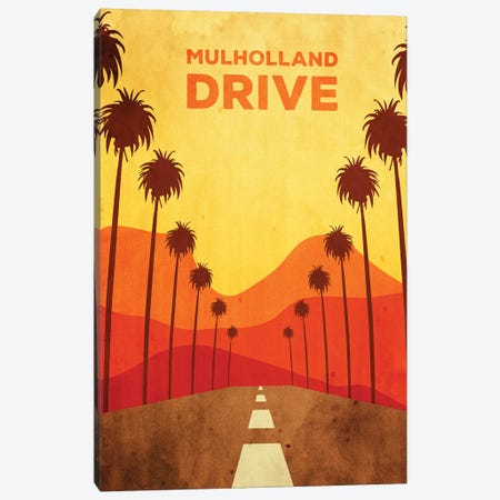 Mulholland Drive Alternative Poster Canvas Print #PTE51} by Popate Canvas Art Print