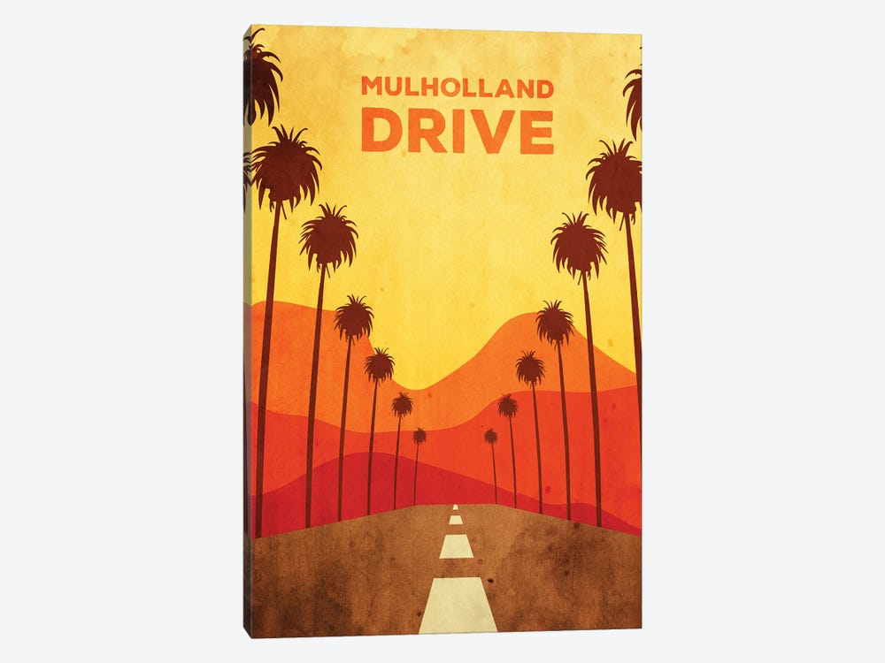 Mulholland Drive Alternative Poster by Popate 1-piece Canvas Artwork