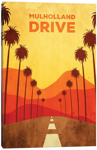 Mulholland Drive Alternative Poster Canvas Art Print
