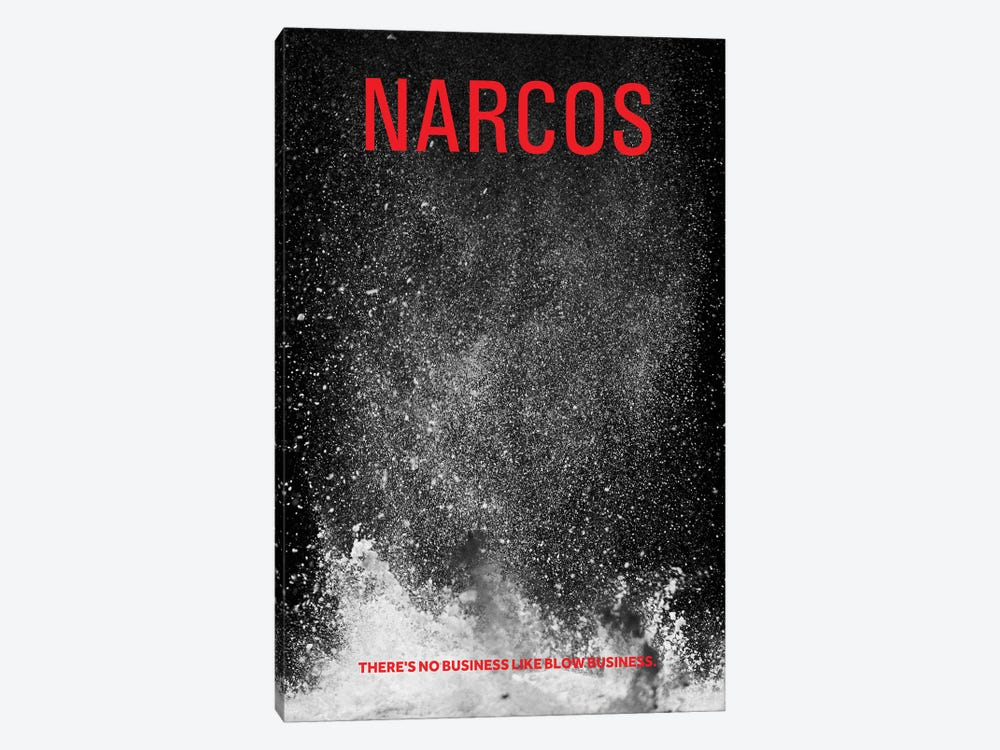 Narcos Alternative Poster by Popate 1-piece Canvas Print