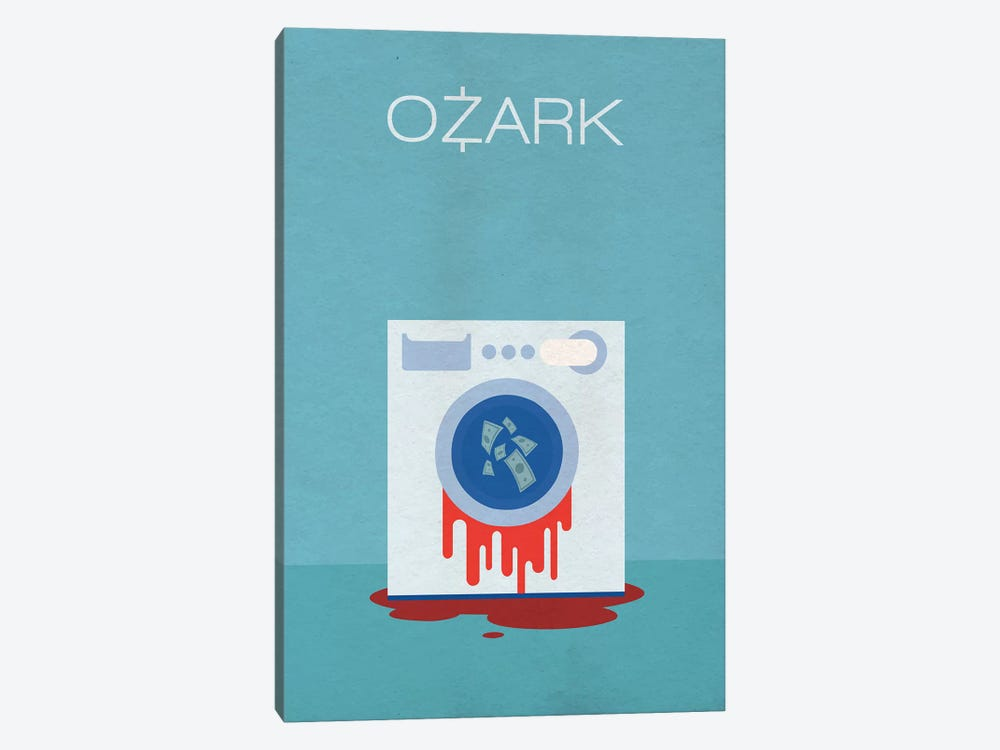 Ozark Minimalist Poster by Popate 1-piece Canvas Art Print