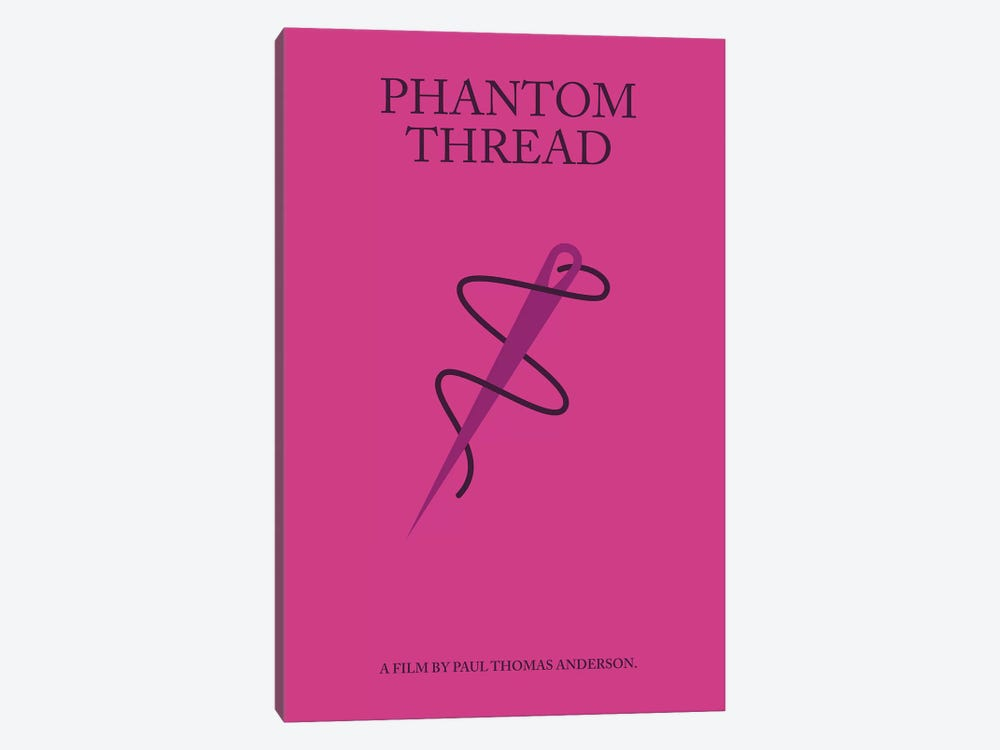 Phantom Thread Minimalist Poster 1-piece Canvas Art Print
