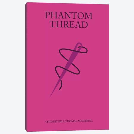 Phantom Thread Minimalist Poster Canvas Print #PTE56} by Popate Canvas Wall Art