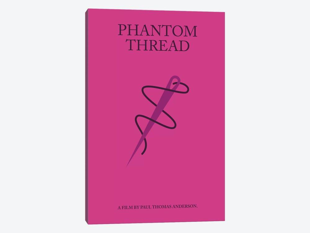 Phantom Thread Minimalist Poster by Popate 1-piece Canvas Art Print