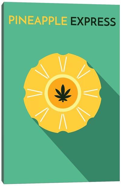 Pineapple Express Minimalist Poster Canvas Art Print