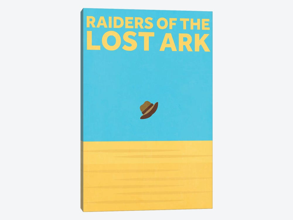 Raiders Of The Lost Ark Minimalist Poster by Popate 1-piece Art Print