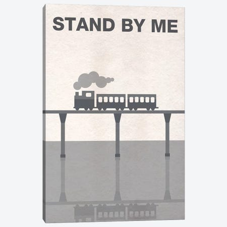 Stand By Me Minimalist Poster Canvas Print #PTE68} by Popate Canvas Art
