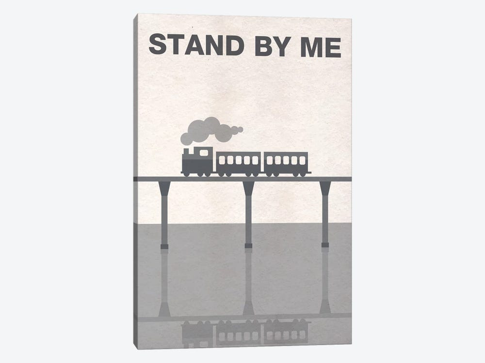 Stand By Me Minimalist Poster by Popate 1-piece Canvas Art