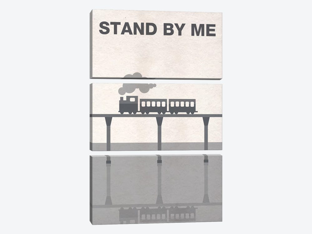 Stand By Me Minimalist Poster by Popate 3-piece Canvas Artwork