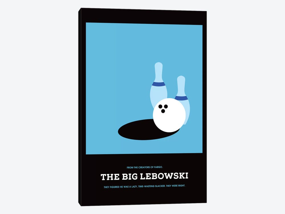 The Big Lebowski Minimalist Poster I by Popate 1-piece Art Print