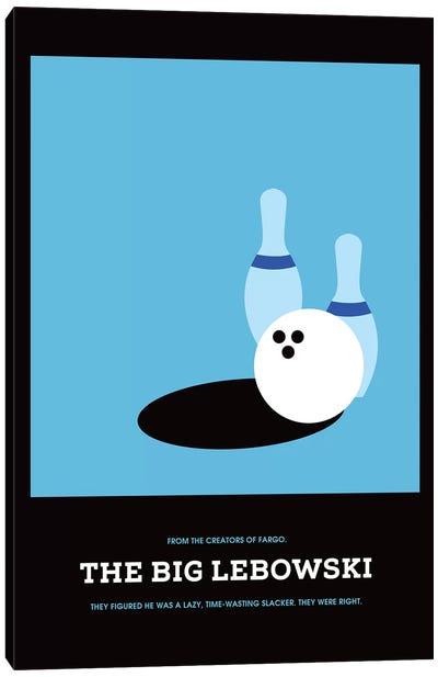 The Big Lebowski Minimalist Poster I Canvas Art Print