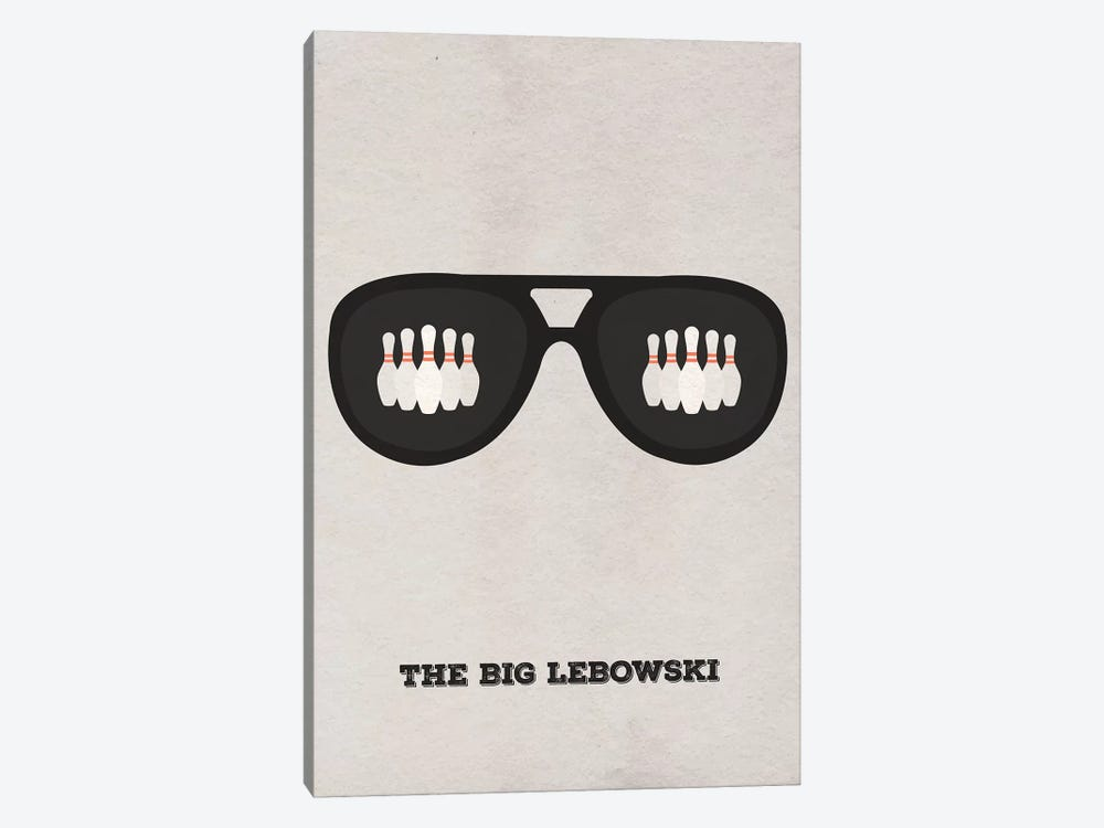 The Big Lebowski Minimalist Poster II by Popate 1-piece Canvas Artwork