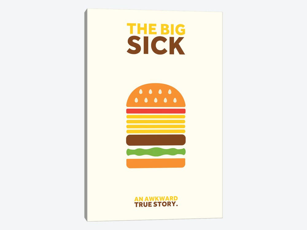 The Big Sick Minimalist Poster by Popate 1-piece Art Print