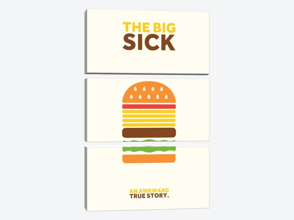 The Big Sick Minimalist Poster by Popate 3-piece Art Print