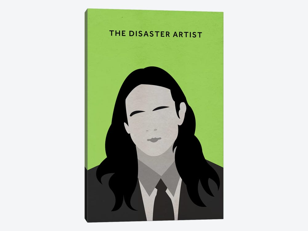 The Disaster Artist Minimalist Poster by Popate 1-piece Canvas Wall Art