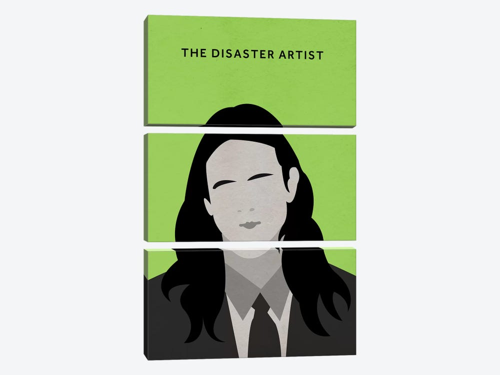 The Disaster Artist Minimalist Poster by Popate 3-piece Canvas Wall Art