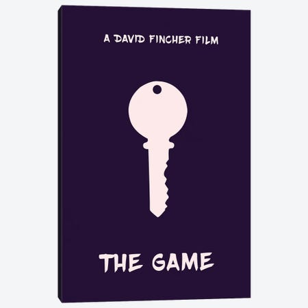 The Game Minimalist Poster Canvas Print #PTE80} by Popate Canvas Artwork