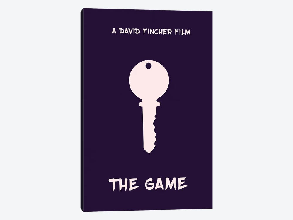 The Game Minimalist Poster by Popate 1-piece Canvas Art