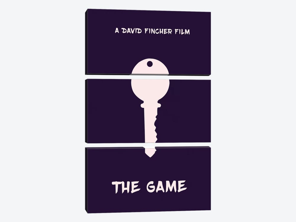 The Game Minimalist Poster by Popate 3-piece Canvas Artwork
