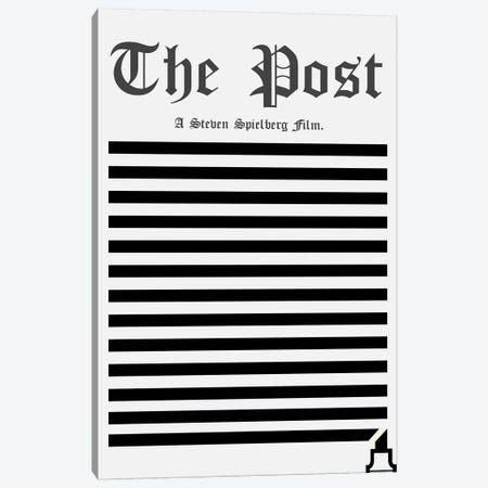 The Post Minimalist Poster Canvas Print #PTE88} by Popate Canvas Artwork