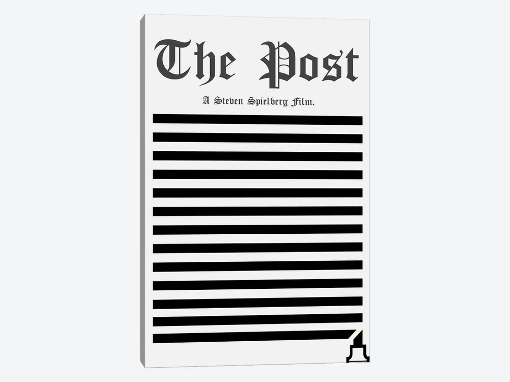The Post Minimalist Poster by Popate 1-piece Canvas Wall Art