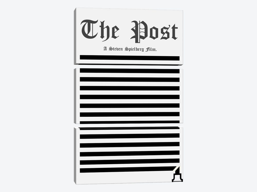 The Post Minimalist Poster by Popate 3-piece Canvas Art