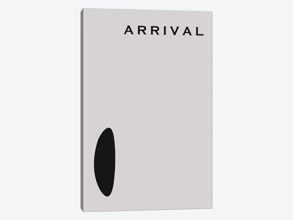 Arrival Minimalist Poster by Popate 1-piece Canvas Art