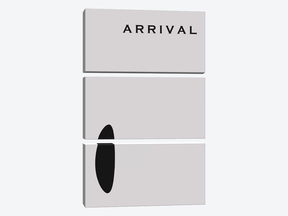 Arrival Minimalist Poster by Popate 3-piece Canvas Art