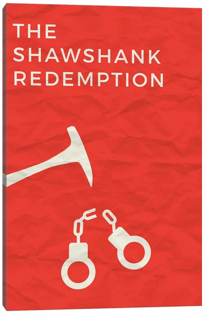The Shawshank Redemption Minimalist Poster Canvas Art Print