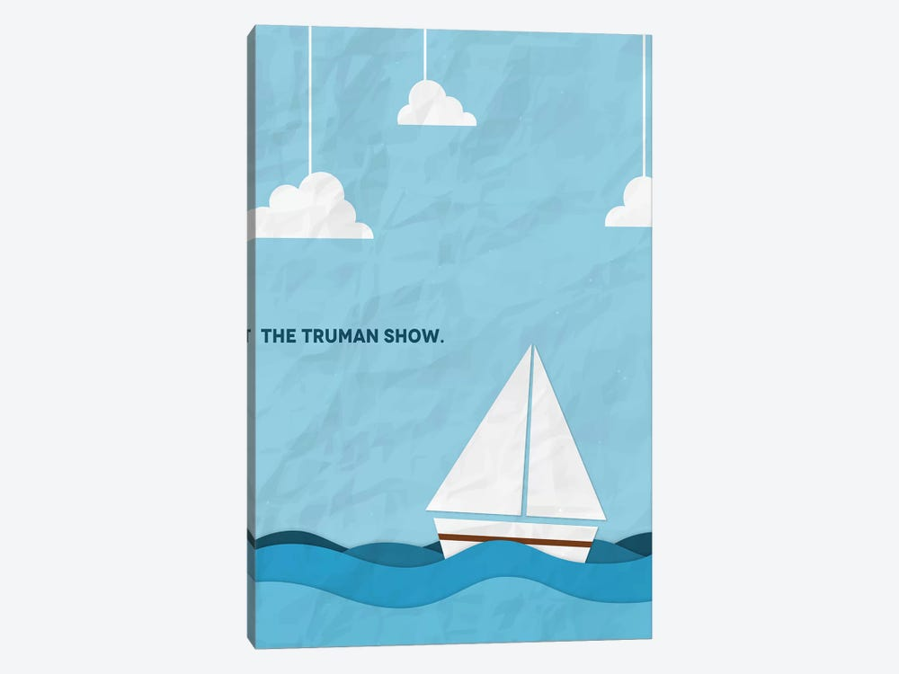 The Truman Show Minimalist Poster by Popate 1-piece Art Print