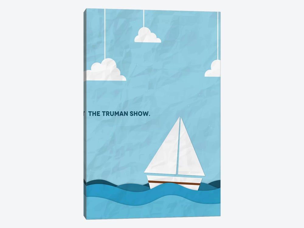 The Truman Show Minimalist Poster by Popate 1-piece Art Print