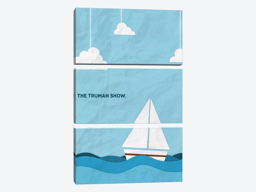 The Truman Show Minimalist Poster by Popate 3-piece Art Print