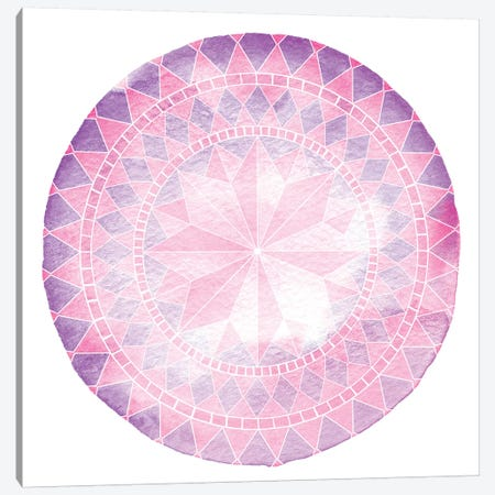 Nautical Medallion Canvas Print #PTL6} by 5by5collective Canvas Print