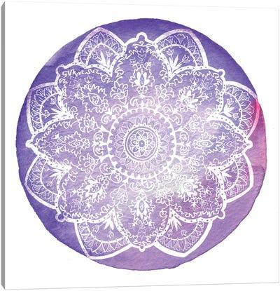Plum Primrose Canvas Art Print