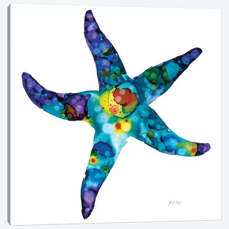Sea Star Canvas Print #PTM16} by Patti Mann Canvas Art