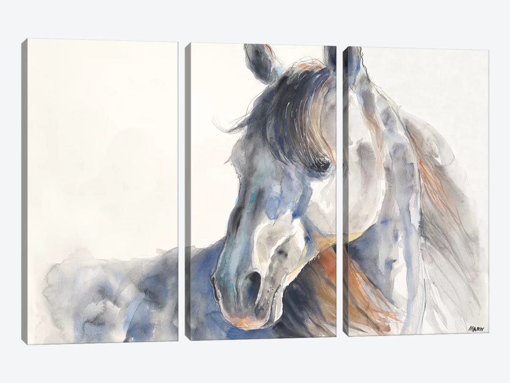 Looking Back by Patti Mann 3-piece Art Print