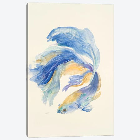 Betta II Canvas Print #PTM4} by Patti Mann Canvas Wall Art