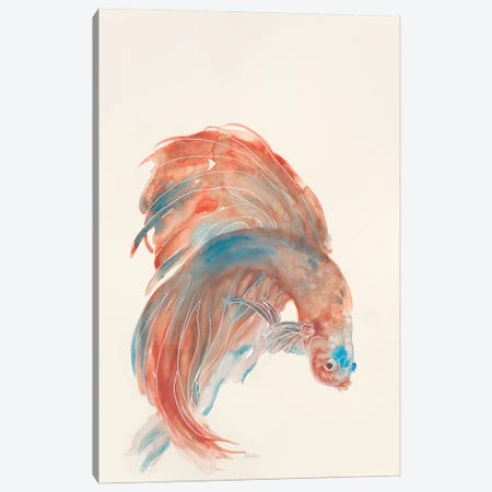 Betta III Canvas Print #PTM5} by Patti Mann Canvas Artwork