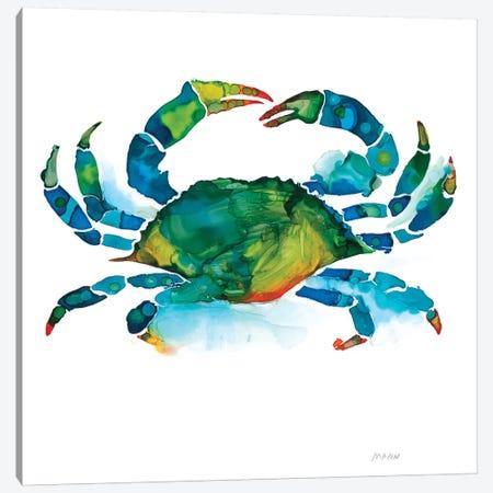 Crab Canvas Print #PTM6} by Patti Mann Canvas Art