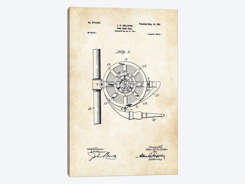 Fire Hose by Patent77 1-piece Canvas Art Print