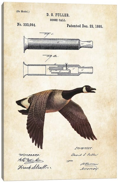 Goose Call Canvas Art Print