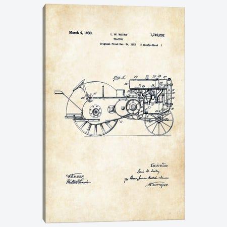 John Deere Tractor (1930) Canvas Print #PTN161} by Patent77 Canvas Artwork