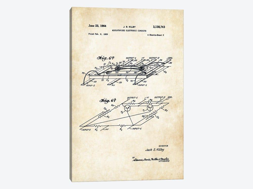 Microchip by Patent77 1-piece Canvas Art Print