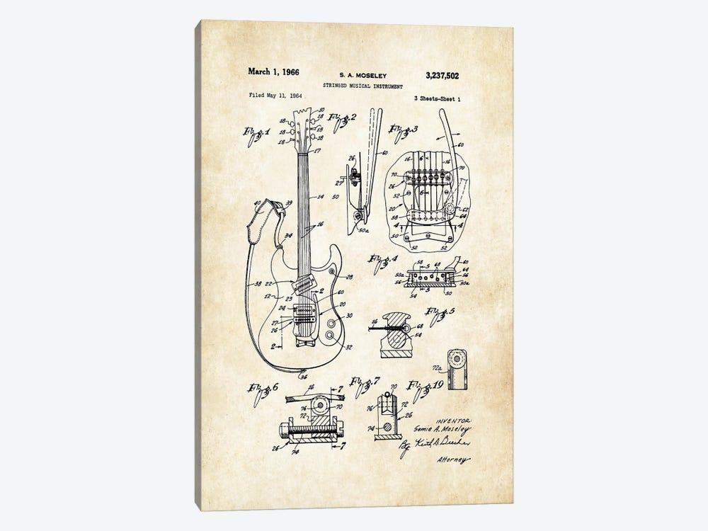 Mosrite Mark 1 Guitar by Patent77 1-piece Canvas Print