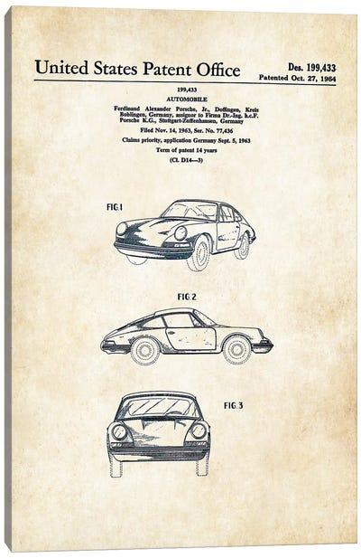 Porsche 911 (1964) Canvas Art Print