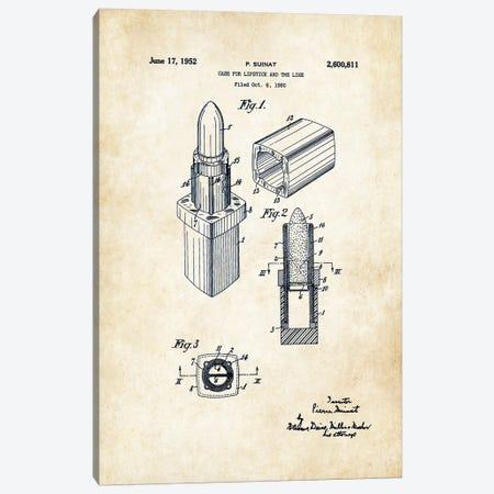 Salon Lipstick Makeup Canvas Print #PTN234} by Patent77 Art Print