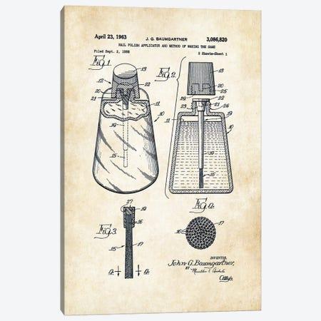 Salon Nail Polish Canvas Print #PTN235} by Patent77 Canvas Print
