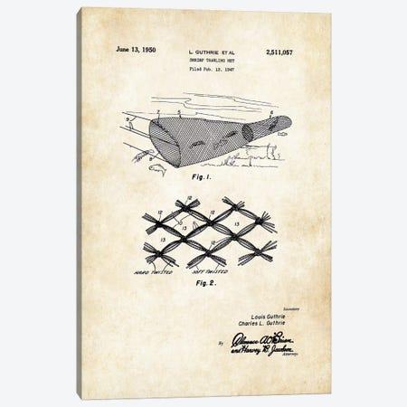 Shrimp Trawling Net Canvas Print #PTN237} by Patent77 Canvas Print