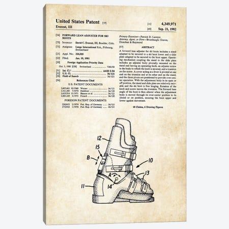 Ski Boots Canvas Print #PTN242} by Patent77 Canvas Print