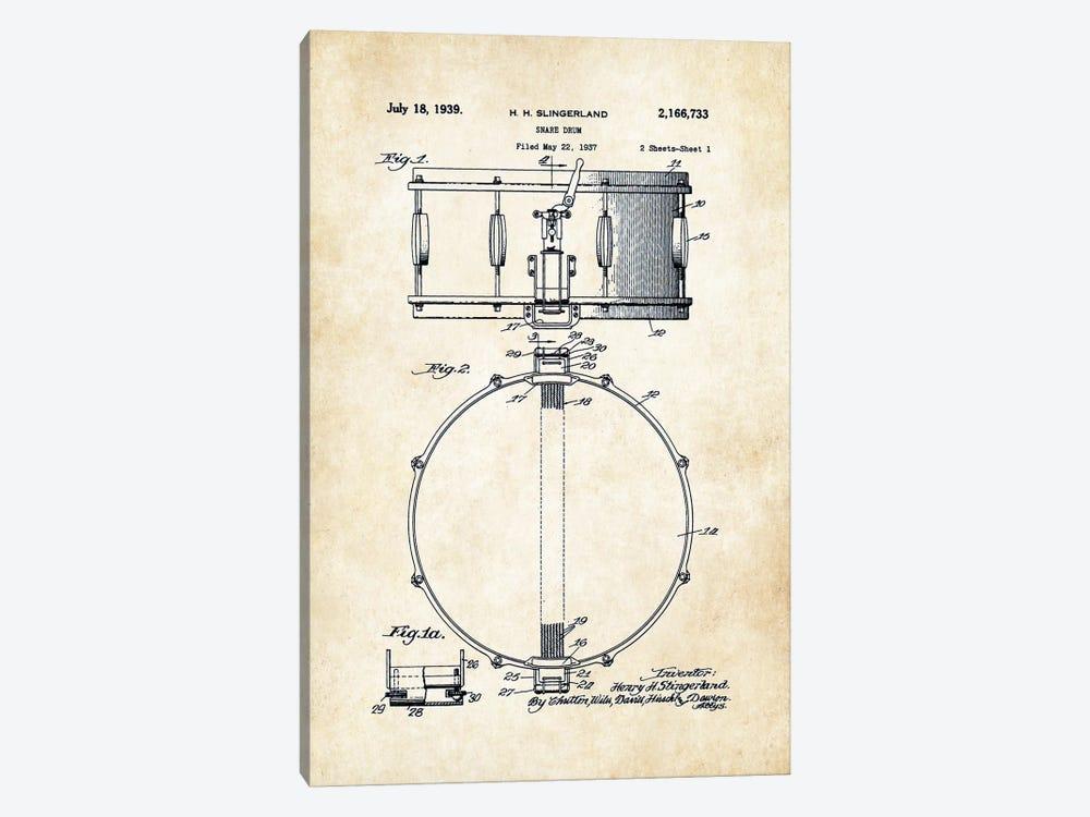 Slingerland Radio King Snare Drum by Patent77 1-piece Art Print